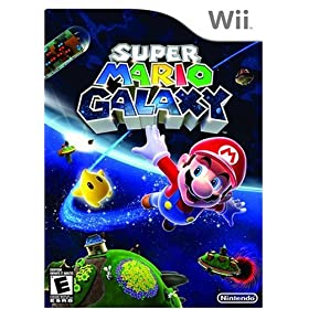 Super Mario Galaxy on Wii Game