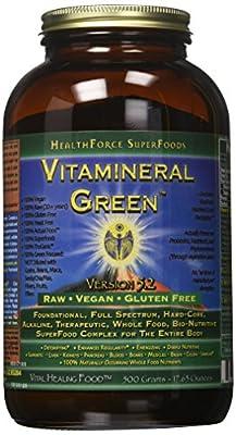 Healthforce Vitamineral Green V 5.2, Powder, 500-Grams. from Healthforce