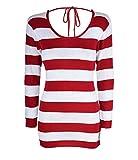 Produktbild von Cute Retro Stripe 50s Streifen Wool Pencil Dress Kleid