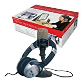 Ion Audio U Cast Podcasting Kit with USB Microphone