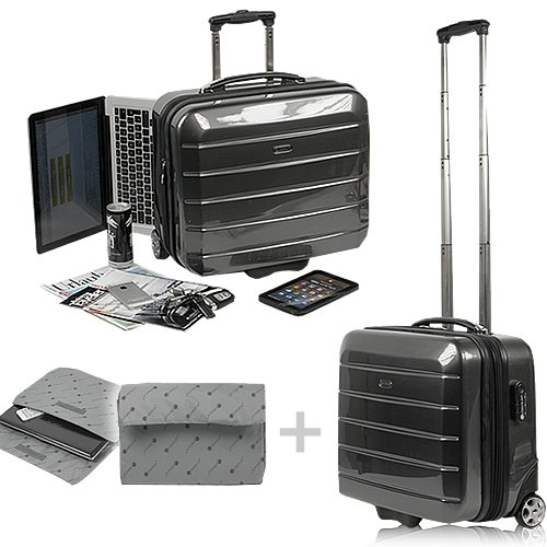 aluminium laptop koffer g nstig kaufen. Black Bedroom Furniture Sets. Home Design Ideas