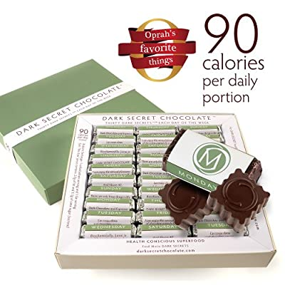 Dark Secret chocolate 30 Day Box