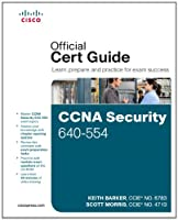 CCNA Security 640-554 Official Cert Guide Front Cover