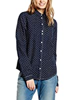 Maison Scotch Camisa Mujer (Azul Marino)