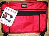 Large Red Mascot Tutto Sewing Machine on Wheels Carrier Case