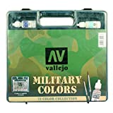 Vallejo Model Color Military Range Box Set (72 colours) VAL70173 by Vallejo