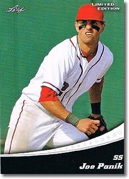 2011 Leaf Limited Edition Prospects Baseball Card #45 Joe Panik - San Francisco Giants (Rookie / Prospect)(Baseball Trading Cards)