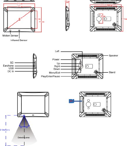 nix digital photo frame instructions