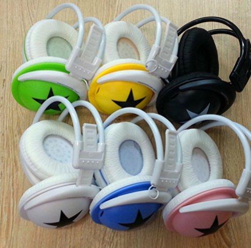 Qich® New Big Stars Wireless Headset Card Card Mp3 Head-Mounted Running Headphones With Fm Radio