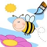 facile livre de coloriage pour les enfants et les tout-petits...