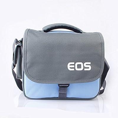 Prost Nylon Single Shoulder Camera case Bag for Dslr Nikon Sony Canon Pentax Olympus Shoulder Messenger(blue)