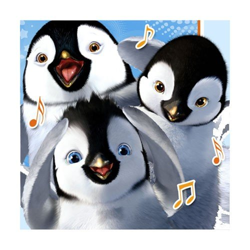 Happy Feet 'Two' Small Napkins (16ct)