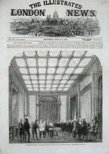 1859 Speaker'S Levee Palace Westminster Morning Room