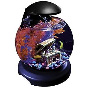 GloFish Waterfall Globe with Blue LEDs, 1.8-Gallon