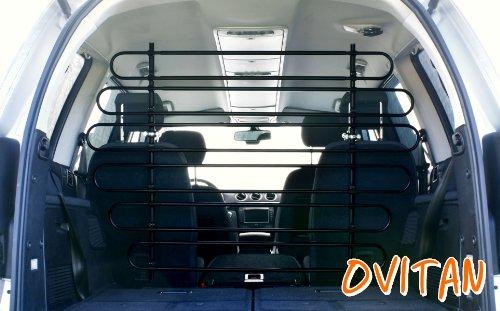 OVITAN Hundegitter XL fürs Auto 12 Streben universal