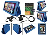 iShoppingdeals - 5 Item Bundle Accessories Pack for Amazon Kindle Fire 7-Inch Tablet WiFi