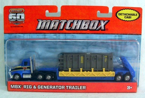 Matchbox MBX Rig & Generator Trailer 60th Anniversary - 1
