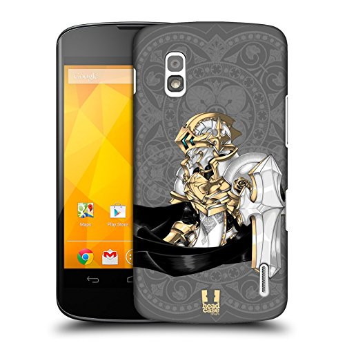 Head Case Designs Astral Knights Protective Snap-on Hard Back Case Cover for LG Nexus 4 E960