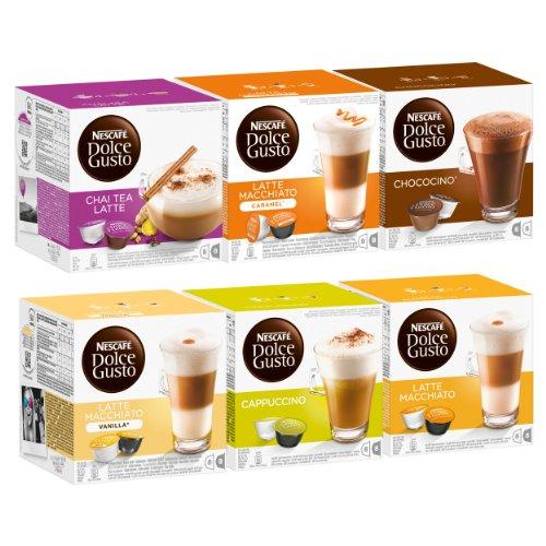 Choose Nescafé Dolce Gusto Sweet Dreams Set, 6 x 16 Capsules from Nestlé