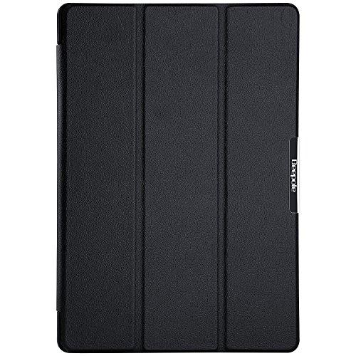 """[BeePole] Custodia Protettiva Tri-Folder per ASUS ZenPad 10 (Z300C) 10.1"""", con Supporto e Funzione Magnetica Automatica Wake/Sleep"""
