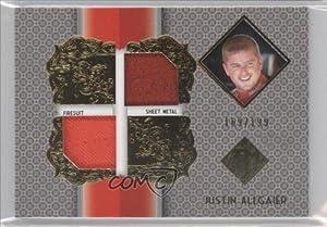 Buy Justin Allgaier 199 #169 199 (Trading Card) 2013 Total Memorabilia Dual Swatch Gold #TMJA by Total Memorabilia