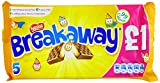 Nestlé Breakaway Milk Chocolate Biscuit Multipack 19.1 g (Pack of 14)