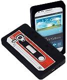 Yayago YUBA 2534-W Retro Kassette Tape Silikonh�lle f�r Samsung Galaxy S3 mini i8190 schwarz