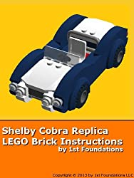 Shelby Cobra Replica - LEGO Brick Instructions by 1st Foundations