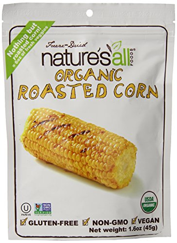 Nature'S All Foods Organic Non Gmo Freeze Dried Roasted Corn, 1.6 Ounce