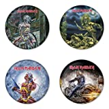 IRON MAIDEN Round Badge 1.75