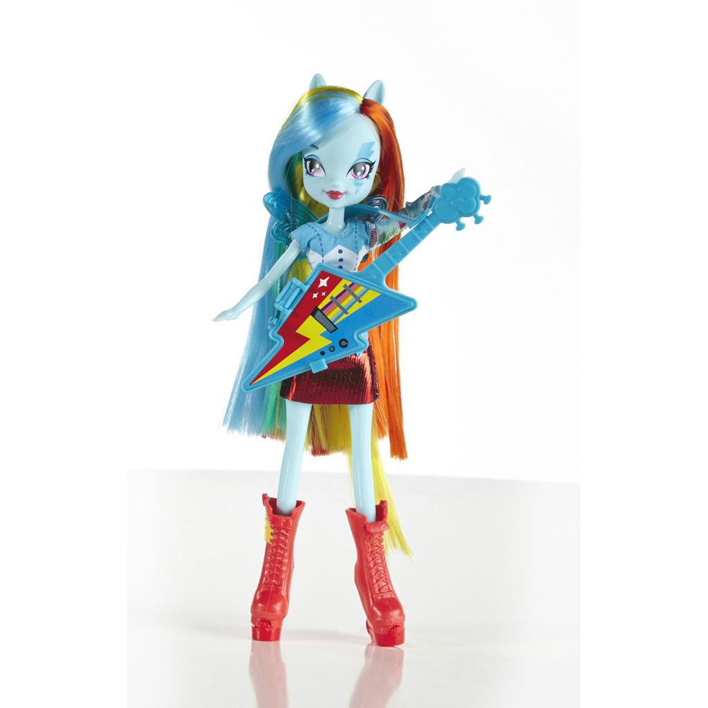 My Little Pony Equestria Girls Rainbow Dash Doll With Guitar Toys Games