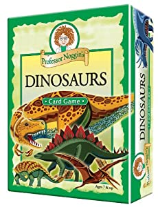Educational Trivia Card Game - Professor Noggin's Dinosaurs
