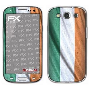atFoliX Fußball 2012 Irland Flagge Designfolie für Samsung Galaxy S3 GT-I9300