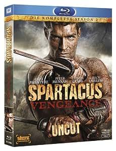 Spartacus: Vengeance - Die komplette Season 2 (Uncut) [Blu-ray]