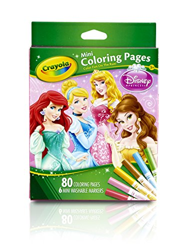 Crayola Crayola Mini Coloring Pages - Disney Princess Toy - 1