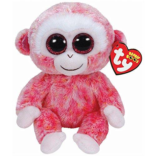 Ty Beanie Boos Ruby the Red Monkey Medium Plush - 1