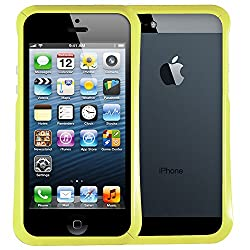 AirPlus AirCase Gloss Series Bumper Case with Screen Protecter for Apple iPhone 5/5S (Grape Green)