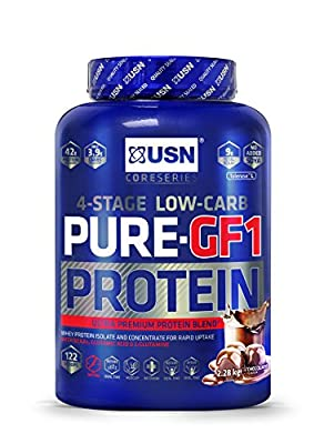 Usn Pure Protein Gf1 Growth And Repair Protein Shake 2.28Kg Chocolate