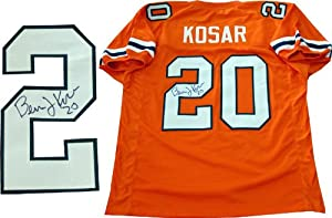 Bernie Kosar Autographed University of Miami Hurricanes Jersey by Hollywood+Collectibles