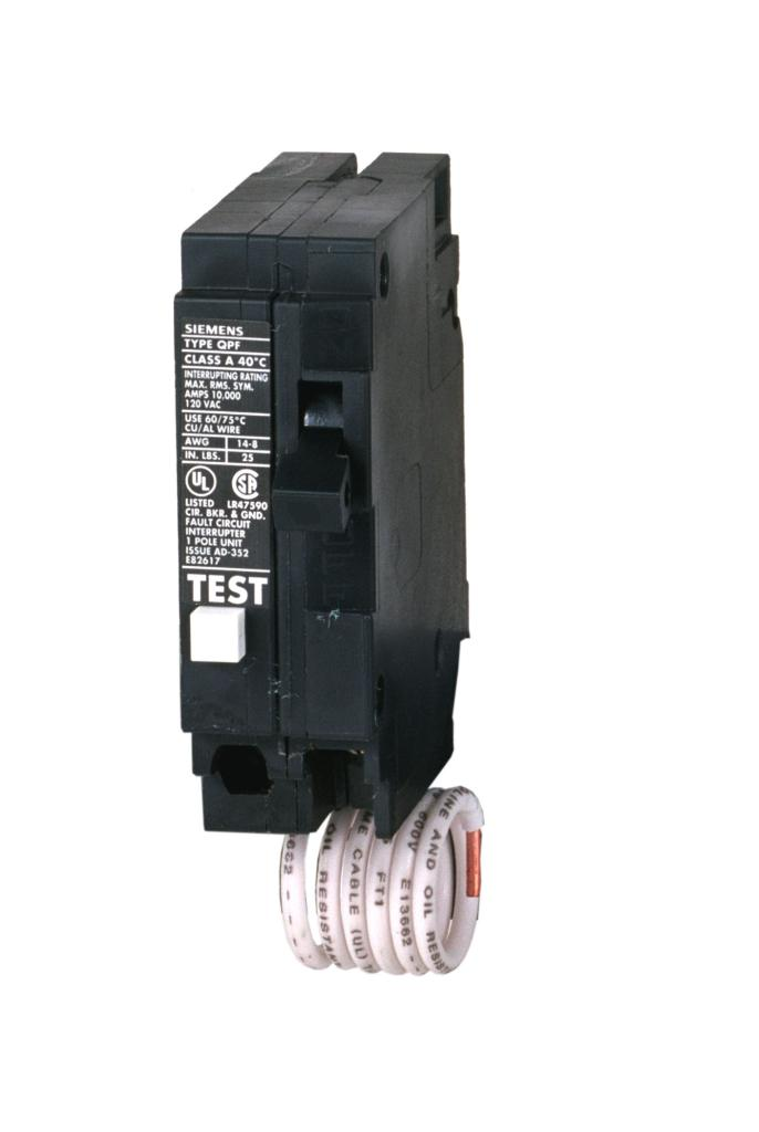 Siemens QF220 20 Amp 2 Pole 240 Volt Ground Fault Circuit