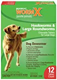 Sentry HC WormX Dog Dewormer, Large Dog, 12ct