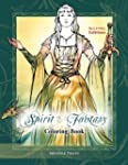 Spirit & Fantasy Coloring Book: Black...