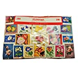 Weltweit Blume Flora Fauna Stempel Collection-100verschiedene Briefmarken. Souvenir/Speicher/MEMORIA. Collectible Briefmarken aus der ganzen Welt. Timbre/Stempel/francobollo/