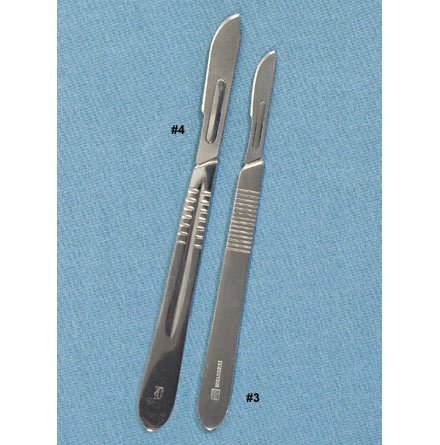 DR Instruments Scalpel Handles with Blades #22 Repl. Blades 10 pk