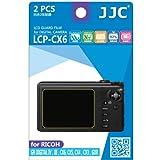 JJC LCD Screen Protector Film for Ricoh GR Digital IV/III/CX6/CX5/CX4/CX3/GXR