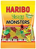 Haribo Super Sour Monsters bag 160 g (Pack of 12)