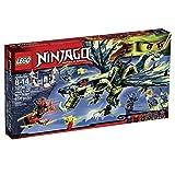 輸入レゴニンジャゴー LEGO Ninjago 70736 Attack of the Morro Dragon Building Kit [並行輸入品]