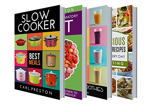 Slow Cooker Recipes: Slow Cooker Recipes: Slow Cooker Cookbook BOX SET: Slow Cooker Low Carb, Slow Cooker Freezer Meals:  Slow Cooker Paleo BOX: Slow Cooker ... Cookbook Freezer Meals, Slow Cooker Cookb) by Delicious Food