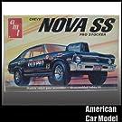 72 Chevy NOVA 1972 シボレー ノバ 70年代製 AMT T365 1:25スケール Chevrolet シェビー プラモデル [並行輸入品]