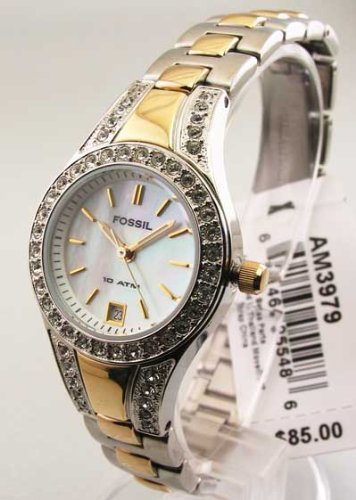 Fossil Women's Two-Tone Bracelet Watch